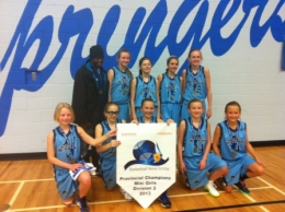 Mr. Bell's Mini Girls Broncos - 2012-2013 BNS Provincial Champions!