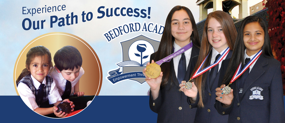 Experience our Path to Success: From an outstanding Junior Primary program to National Science Fair Champions...share the path to success at Bedford Academy.