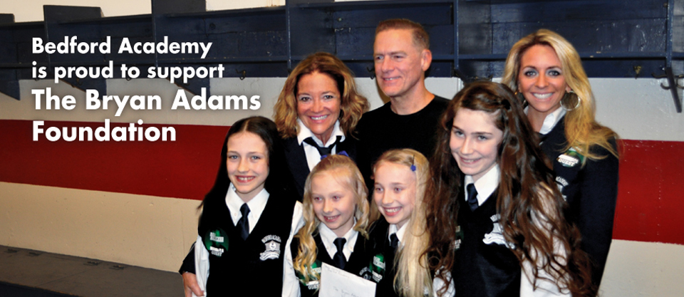 Bryan Adams: Athletics, Arts, and Academics...Bedford Academy has it all!