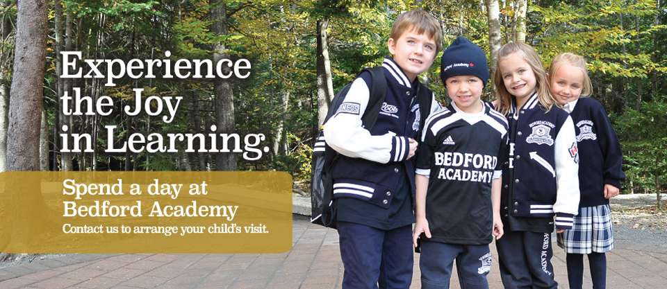 Spend a Day: Athletics, Arts, and Academics...Bedford Academy has it all!